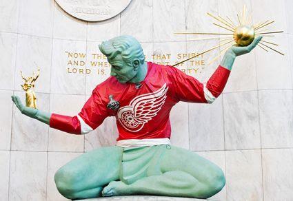 Spirit of Detroit 2009