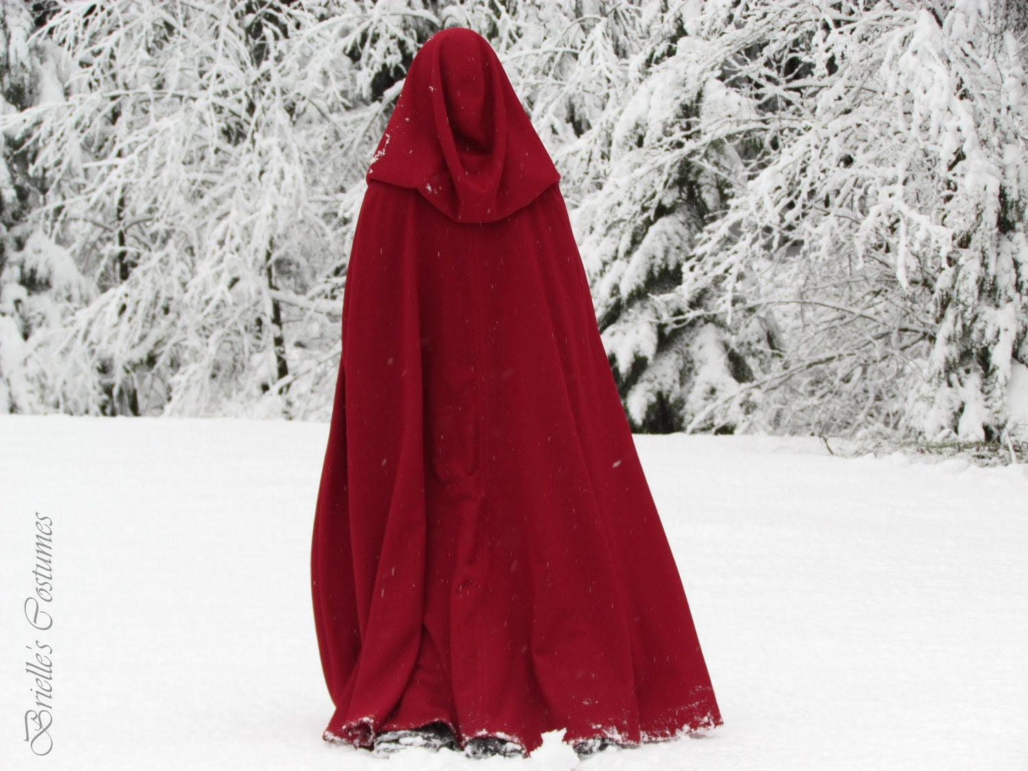 Red Riding Hood Cape Sz Small