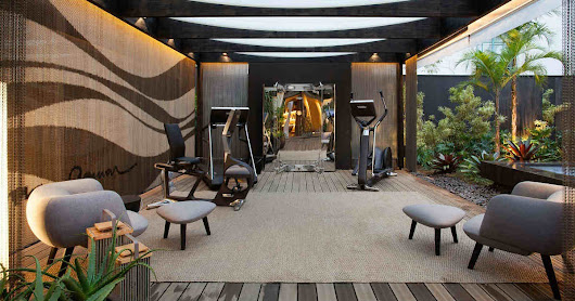 Home Wellness solution with Technogym at Casa Cor in São Paulo