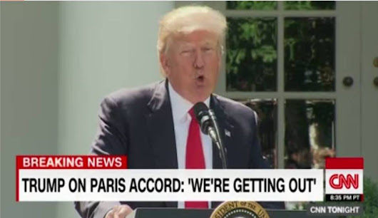 President Trump to withdraw United States from the Paris Climate Accord?