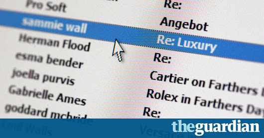 Spam email operator's faulty backup leaks 1.37bn addresses | Technology | The Guardian