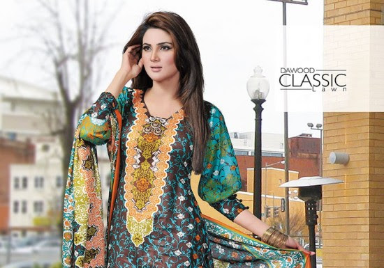 Dawood-Textile-Classic-Lawn-Collection-2013-New-Latest-Fashionable-Clothes-Dresses-