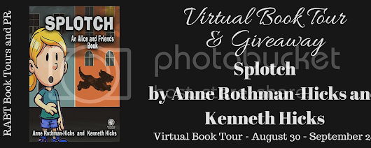 Virtual Book Tour: Splotch by @kenhicksnyc #interview #giveaway #middlegrade