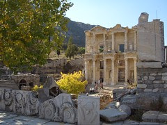Celsus Library in Efes/Ephesus