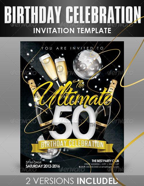 Template Free Club Party Psd Flyer Templates Premium