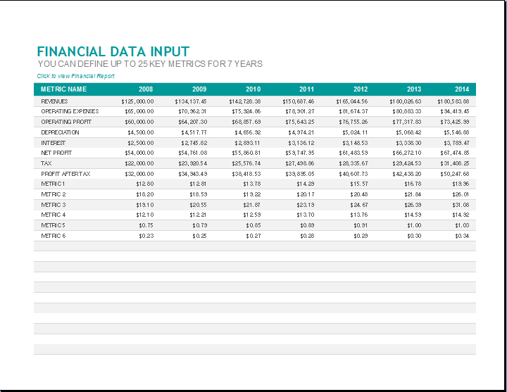Excel Templates 5 Monthly Financial Report Excel Template Ryowo Templatesz234