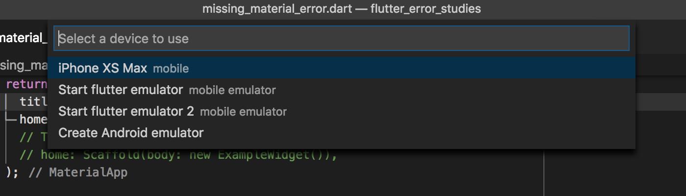 VS Code extensions v3 3 - Flutter Outline preview, improved device