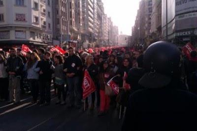 Espanha: adesão à Greve Geral ultrapassa os 80%