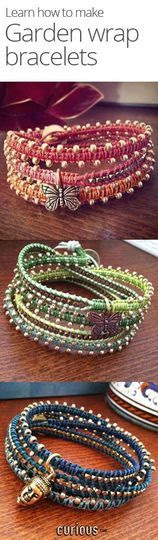 How to Make a Garden Wrap Bracelets - video