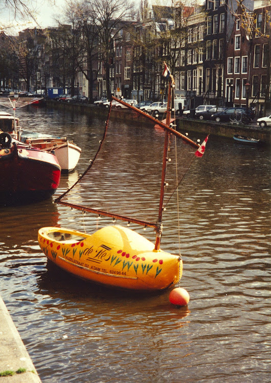 Backpacking in Europe – Netherlands - DarcyPeters.ca