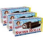 Little Debbie Big Pack Swiss Rolls (3 Big Pack Boxes)