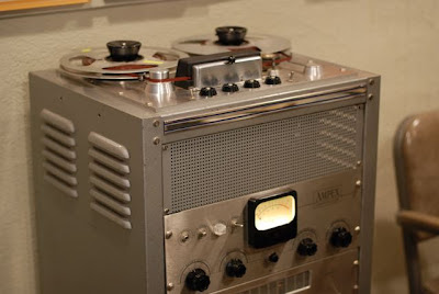 Ampex Tape Recorder in the Norman Petty Recording Studios, Clovis, New Mexico