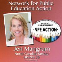 NPE Action Endorses Jennifer Mangrum for North Carolina District 30