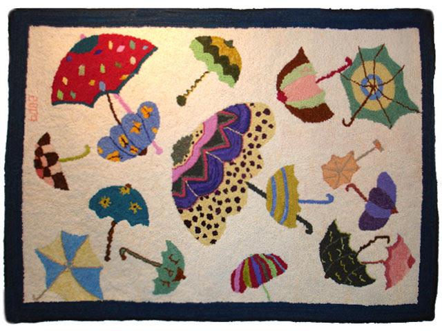 Sally Perodeau - Umbrellas