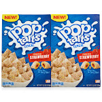 Kellogg's Pop-Tarts Cereal 2 x 11.2 oz. - Frosted Strawberry