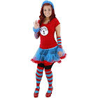Dr Seuss Thing 1 and Thing 2 Fuzzy Headband