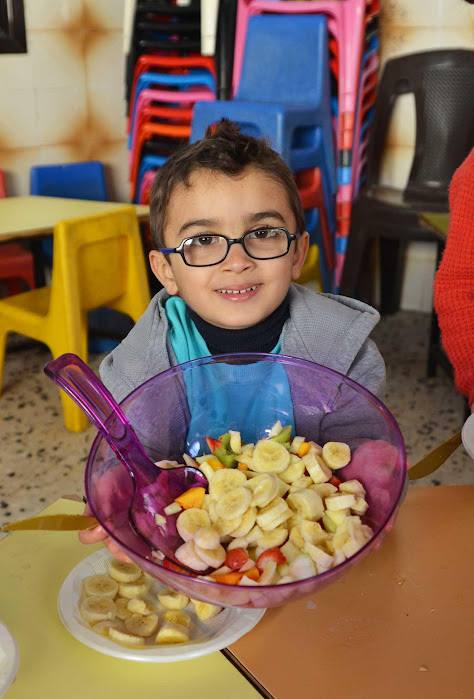 In Gaza Preschools, Kitchens Become Science Labs for Active Learning | ANERA