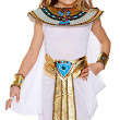 Children's Egyptian Girl Fancy Dress Costume