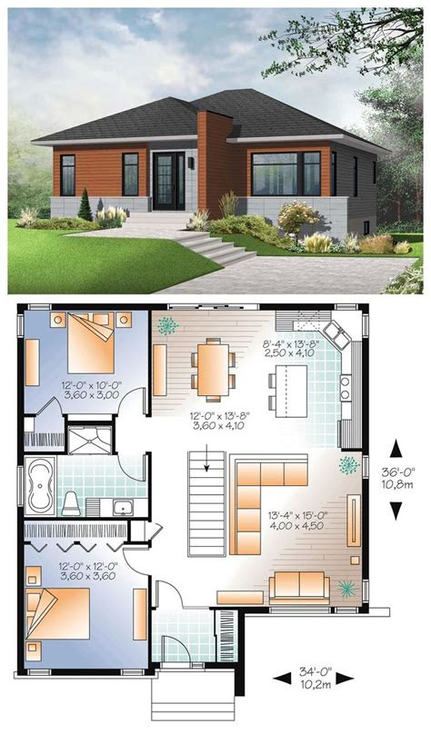awesomely simple modern house plans plans haus