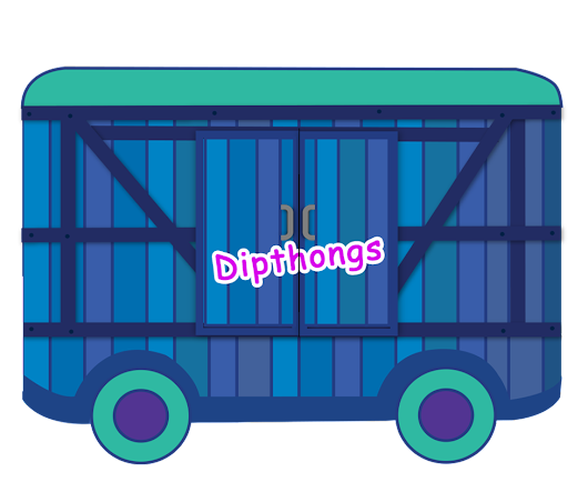 Phonics Sound of bogie 6: DIPHTHONGS