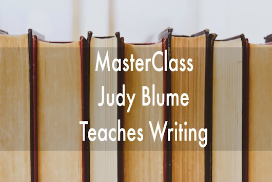 Judy Blume MasterClass on Writing | A Real Page Turner
