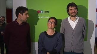 David Cid, Marta Ribas i Ernest Urtasun