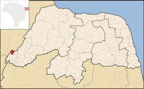 Localização de Doutor Severiano