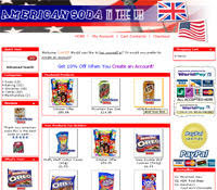 americansoda.co.uk website screenshot