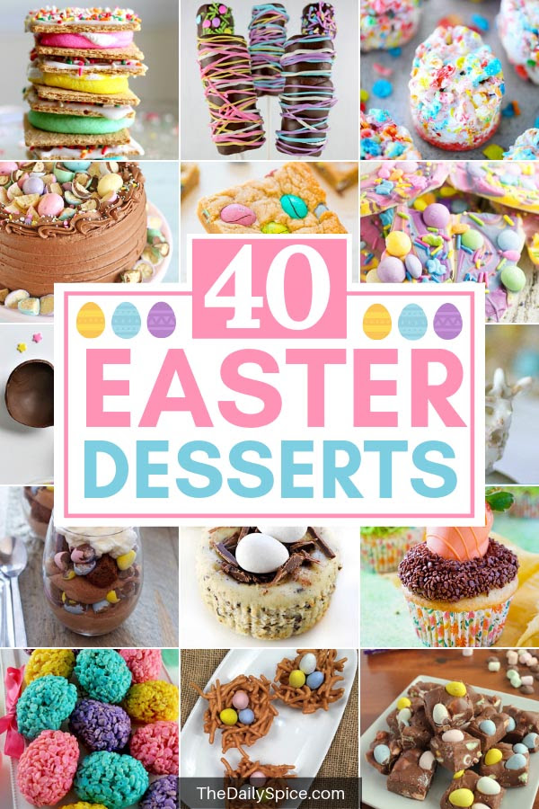 Delicious Easter Desserts To Make This Year