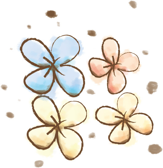 花 02のイラスト かわいいフリー素材が無料のイラストレイン