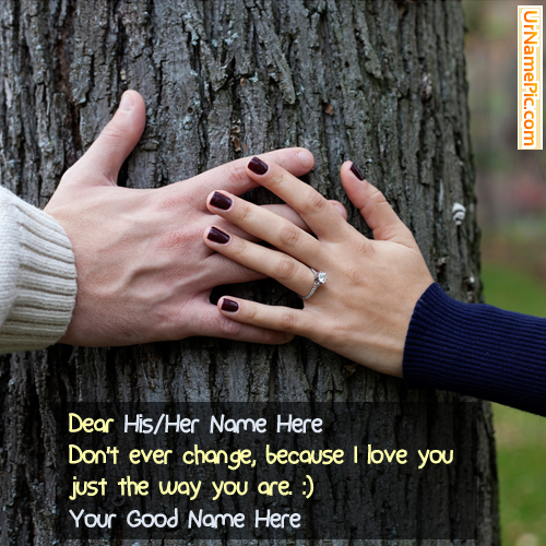 Couple Hands Name Picture - Love Name Generator