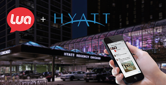 Hyatt Regency Chicago Has Chosen Lua!