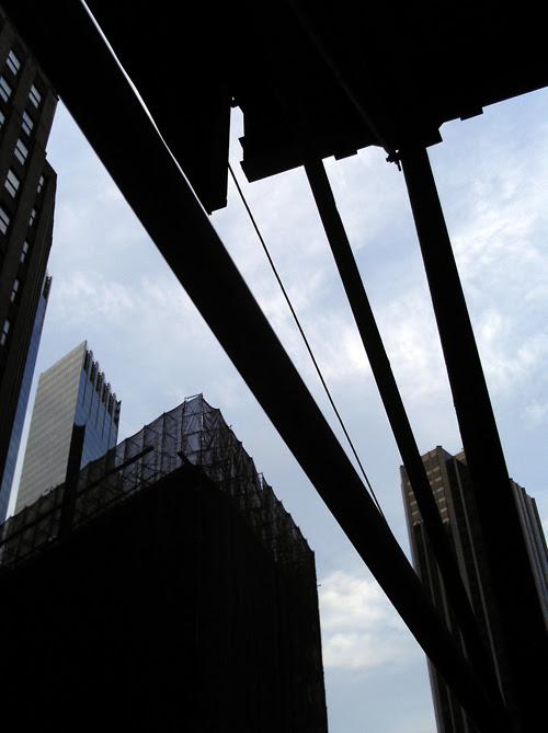 Broadway scaffold