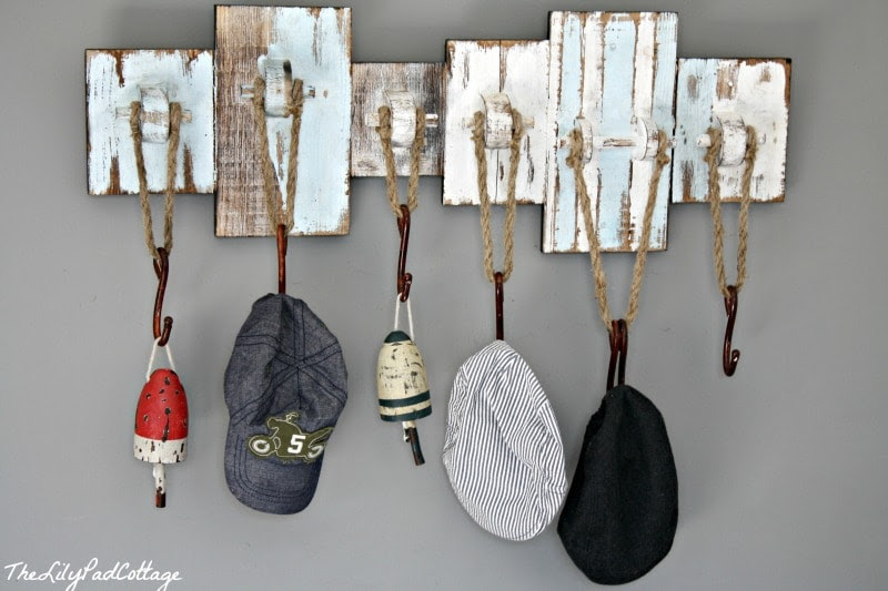 Nautical Hat Rack - thelilypadcottage