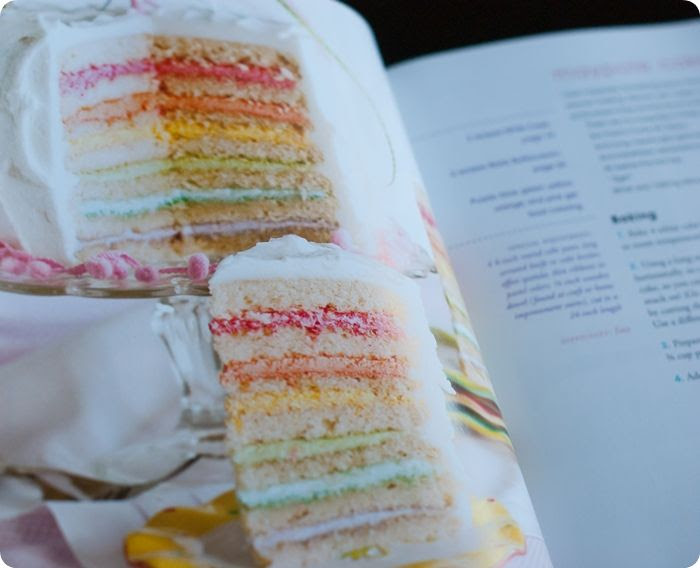 maypole cake from Surprise-Inside Cakes: book review & giveaway