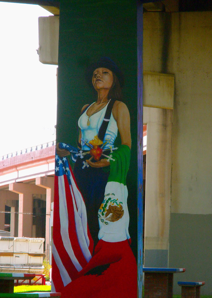 Lincoln Park murals: Pachuca