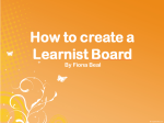 Create a Learnist Board