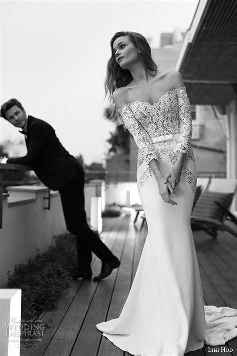 Lihi Hod 2015 Wedding Dresses ? Film Noir in White Bridal