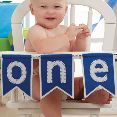 1st Birthday Highchair Banner