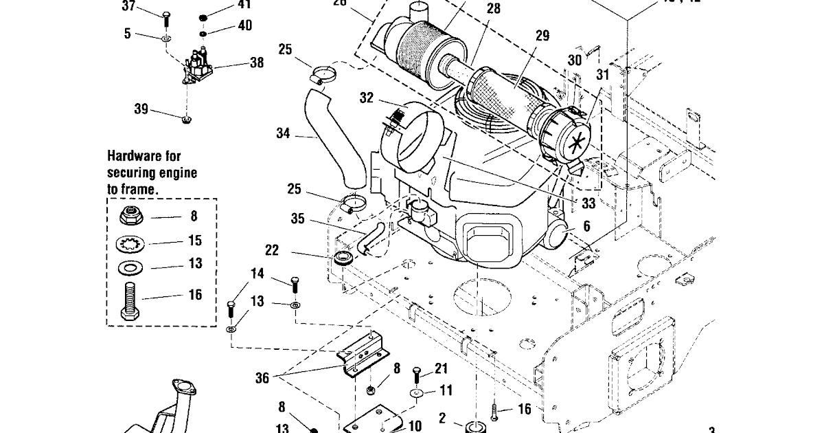 1 4 Hp Kawasaki Engine Diagram
