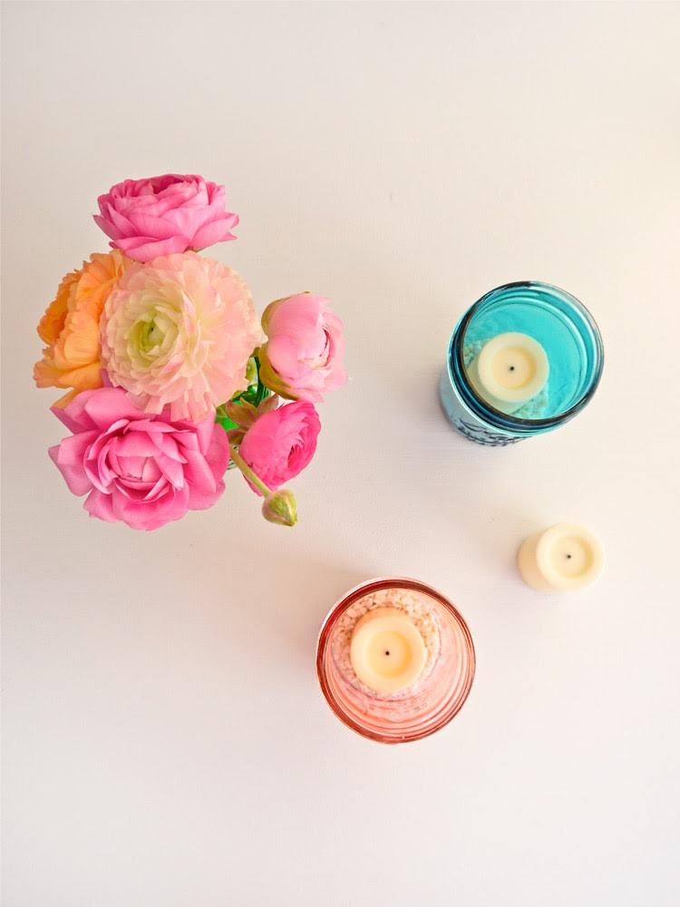 DIY Colored Glass Mason Jars Freutcake 1 DIY Colored Glass Mason Jars