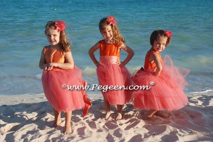 Wedding dresses flower girl dresses for beach wedding for Off the rack wedding dresses san francisco