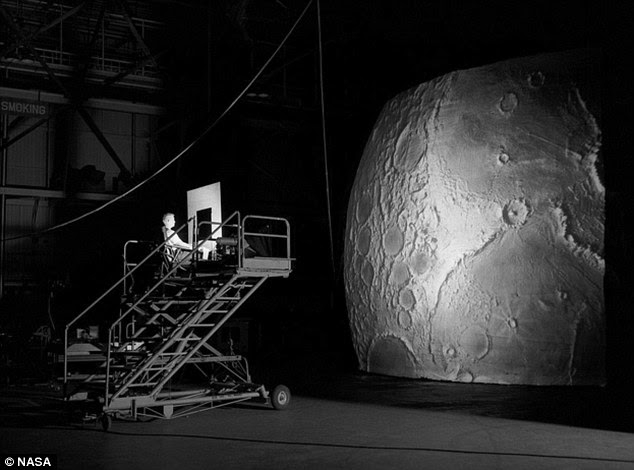 Project LOLA or the Lunar Orbit and Landing Approach was a simulator built at Langley Research Center to study problems related to landing on the lunar surface. It was a complex project that cost nearly $2 million dollars.