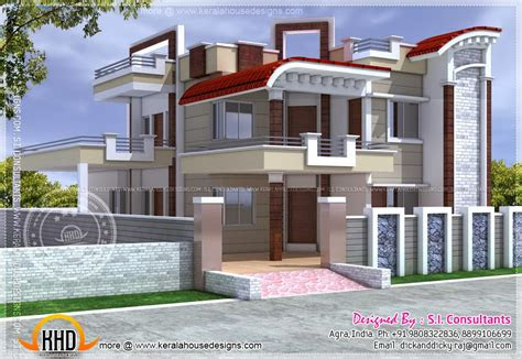exterior design house india kerala home floor plans home