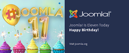 Happy 11th Birthday Joomla!