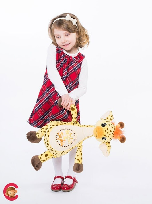 Giraffe personalized Plush Giraffe Stuffed animal