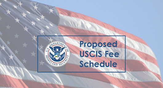 USCIS Proposed Fee Increases
