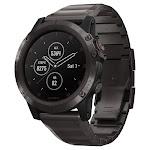 Garmin fenix 5X Plus Multisport GPS Watch with Golf Features