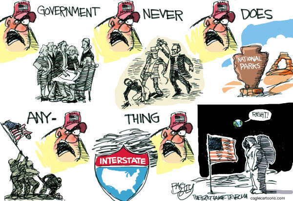 Cartoon by Pat Bagley