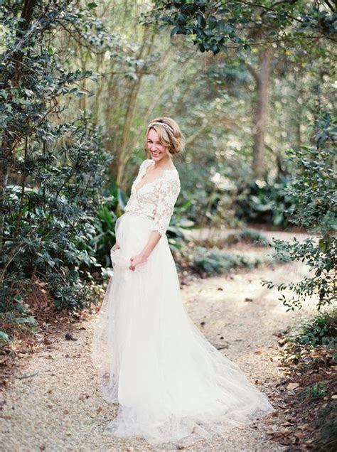 003 maternity pregnant wedding dresses advice GF Couture
